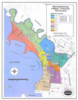 BTV redistricting proposed