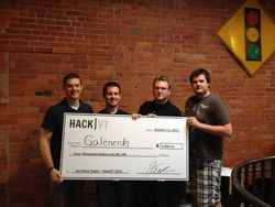 HackVT 2013 - Team Galenerds